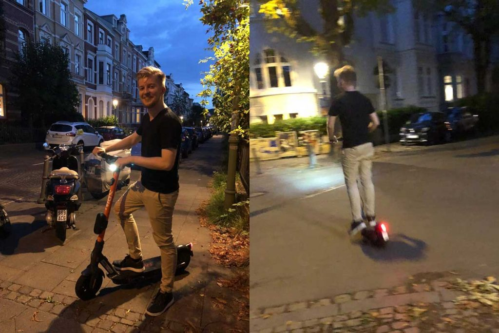 Spin E-Scooter in Bonn