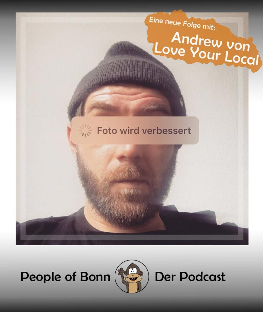 Andrew Triebe von Love Your Local bei People of Bonn